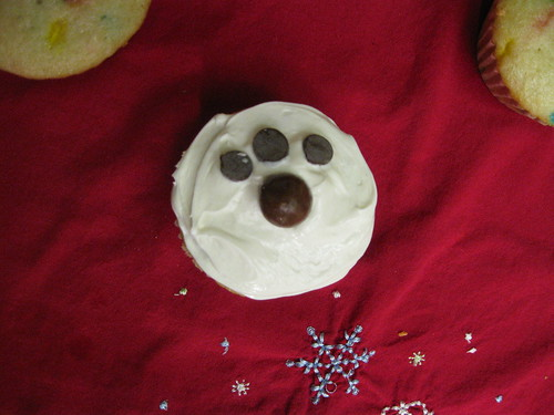 Pup Themed Cupcake