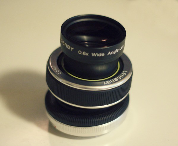 Lensbaby with Wide Angle Lens