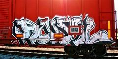 IMG_5545 (mightyquinninwky) Tags: railroad graffiti tag graf tracks railway tags tagged railcar rails boxcar graff graphiti freight trainart fr8 railart boxcarart freightart taggedboxcar paintedboxcar paintedrailcar taggedrailcar