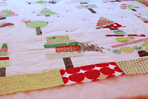 Basting & Quilting today