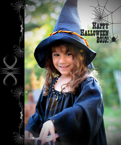 Bella Halloween card