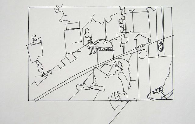 DC Sketchers profile sketch