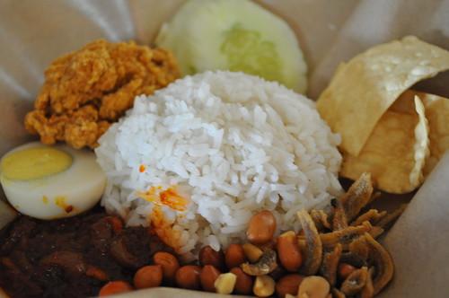 white town nasi lemak