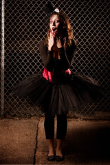 Voodoo Puppet (L'Eidolon) Tags: portrait halloween girl canon eos model ballerina puppet 200 l cheetah 28 70 vivitar softbox 2010 strobist 5dmarkii