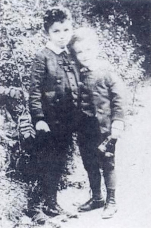 Wittgenstein with his older brother