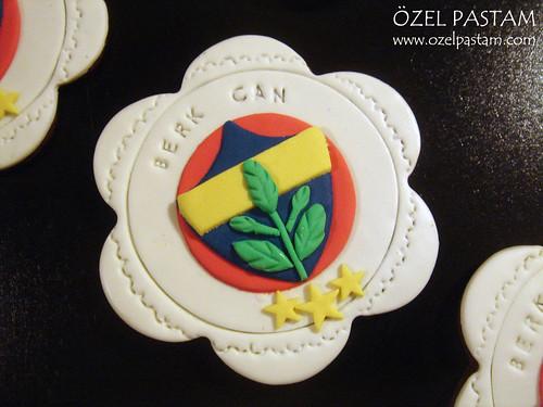Fenerbahce Logo Kurabiyeler