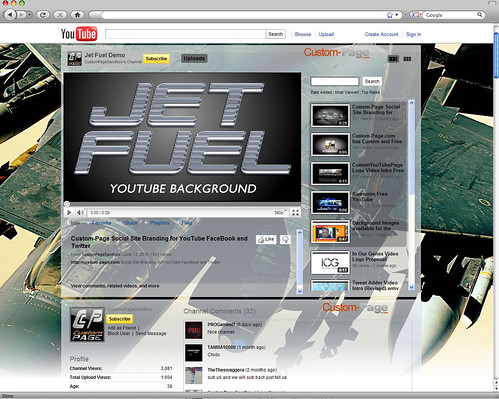 Jet Fuel YouTube Background Image · Call of Duty Black Ops