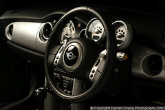 Mini Cooper Dashboard (autodetailer) Tags: cars umbrella flash automotive explore wireless dashboard damncool sidelight lightmanipulation strobist sonyalphaa100 autodetailer salf56am whitebrolly whitereflectors blackreflectors minicoopercabriolet interiordetailing
