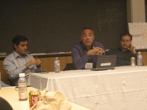 Panel on politics