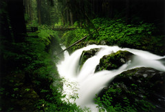 Sol Duc Falls, 120 seconds (Zeb Andrews) Tags: longexposure nature forest landscape outdoors washington olympicpeninsula fujireala pinhole waterfalls pacificnorthwest nationalparks olympicnationalpark solduc zeroimage questfortherest pinscape zero69 rainforests bluemooncamera zebandrews zebandrewsphotography pfevergreen pfemerald primevalforestgroups pfwaterfall