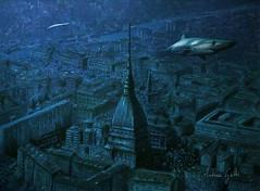 Panorama con squalo