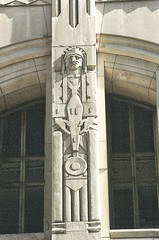Penobscot Building (Aviation)--Detroit MI (pinehurst19475) Tags: city urban building downtown architecturaldetail michigan aviation detroit nativeamerican ornament artdeco deco penobscot symbolism penobscotbuilding architecturalsculpture architecturalelements parducci sculpturalrelief corradoparducci architecturalsculptor nativeamericanfigure