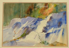Nan White's watercolor