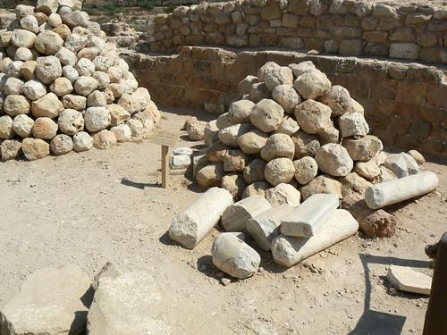 Ballista stones