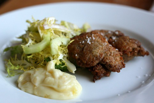 chicken fried chicken livers/ Clyde Common, Ace Hotel, PDX