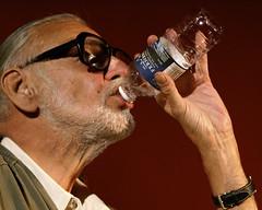 George A. Romero:  Speak of the Dead III (Roger Cullman) Tags: film water movie dead bottle zombie horror bite qa romero interview flick waterbottle zombi livingdead horrorfilm georgeromero georgearomero ofthedead speakofthedead q38a photorogercullmanallrightsreserved TGAM:photodesk=water