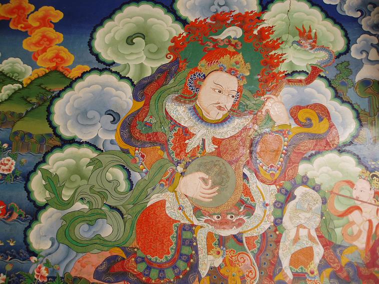 Lamayuru mural