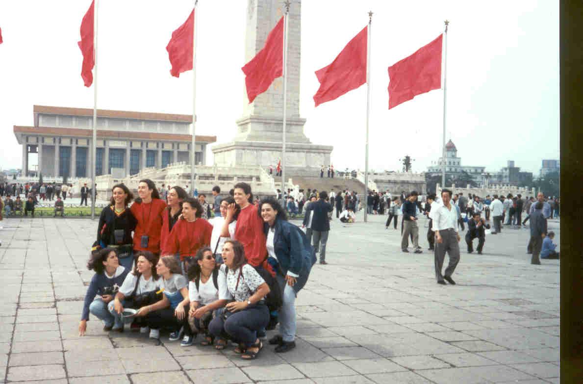 plaza tianamen, beijing, pekín, China, blog la vuelta al mundo en 180 días, entrevista La vuelta al mundo en 180 días, vuelta al mundo, round the world, información viajes, consejos, fotos, guía, diario, excursiones