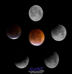 Lunar Eclipes 08/07 (Herb Dunn (YosemiteJunkie)) Tags: red moon lune dark rouge noir space satellite luna craters crater astronomy universe espace solarsystem astronomie univers cratère éclipse cratères lunareclipes systèmesolaire herbdunn dunnrightphotography