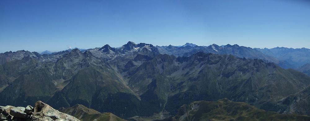 Desde el Midi d'Ossau (2884m)
