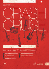 Crash Cruise (subgrafik) Tags: cruise red poster logo design graphic crash swiss workshop type helvetica gigant subgrafik