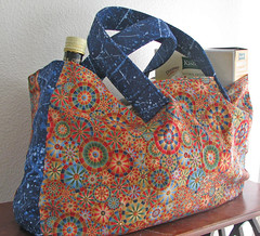 ReUsable Grocery Bag-stuffed
