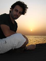 (aZ-Saudi) Tags: sunset sea portrait man handsome arabic explore saudi arabia ksa        platinumphoto arabin adoublefave  arabs