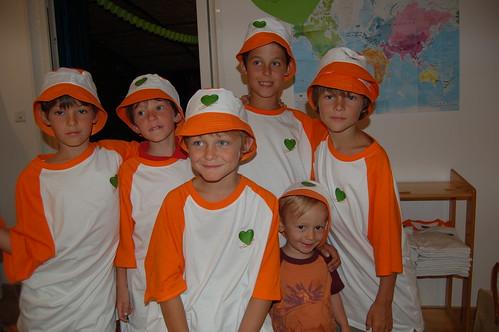 Les enfants portent Coeur Vert