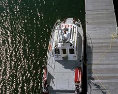 FB1 (DavyRocket) Tags: film freeassociation analog eos 50mm iso100 boat fuji slide 8x10 lakemichigan 35mmfilm crop milwaukee fujichrome e6 fireboat 2007 elan7 fb1 milwaukeefiredepartment