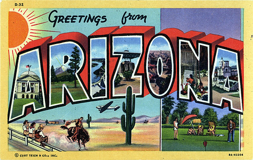Postcard Collection: Greetings From Arizona, Part One
