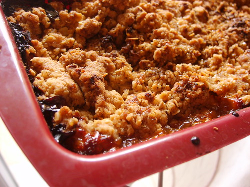 Apple and Oat Betty
