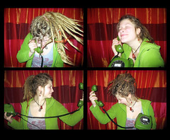 Telefonemotionen (Paulchen...mostly off. :)) Tags: girl dreadlocks sp dreads paulche
