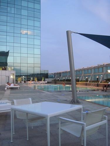 Swimming Pool High Above Dubai