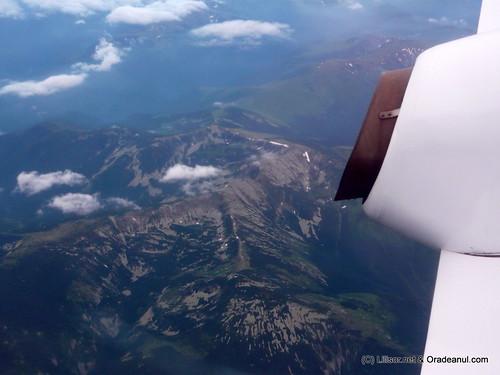 romania vazuta din avion