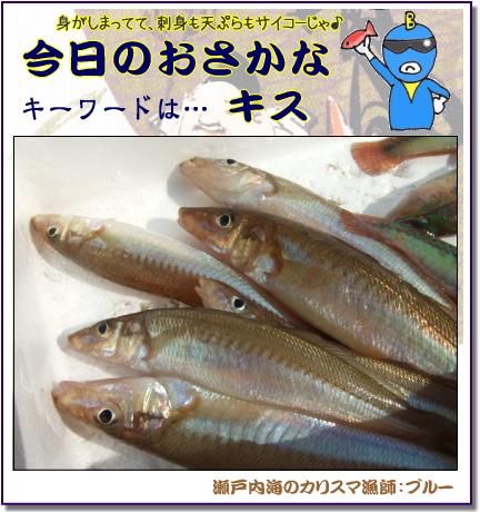 キス料理なら 天ぷらがオススメ! 【瀬戸内の魚】