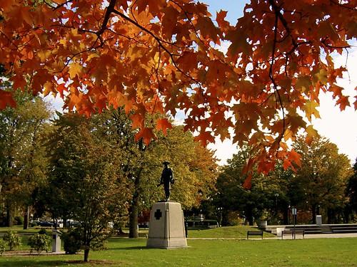 Autumn in Waltham Center