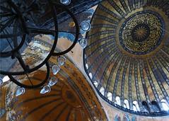 Aya Sophia (moarplease) Tags: museum architecture turkey cathedral interior islam türkiye istanbul mosque unesco ottoman hagiasophia byzantine ayasophia constantinople