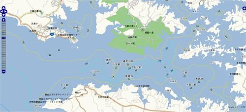 釣りポイント(三重県、志摩半島、浜島)