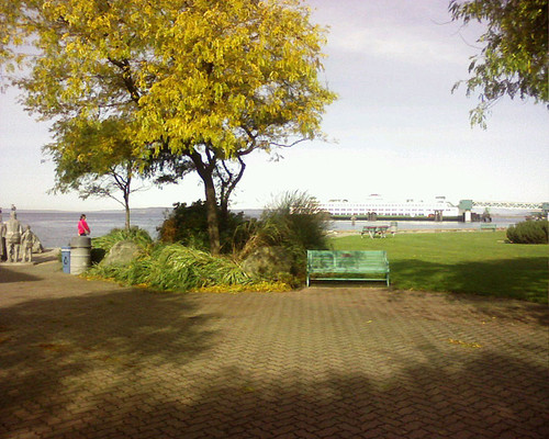 Edmonds Waterfront on a Fall Day