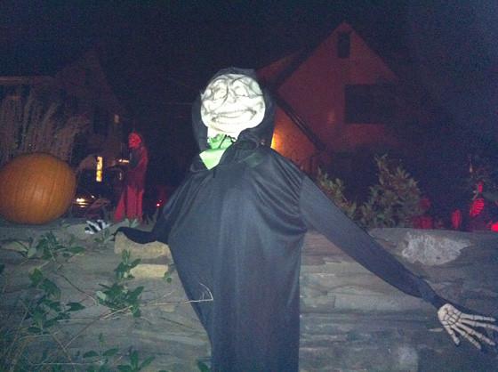 Hightstown Halloween Display 4