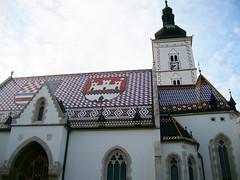Zagabria, la chiesa di San Marco nella Gornji Grad (città alta)