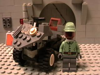 Lego Mongoose with Johnson