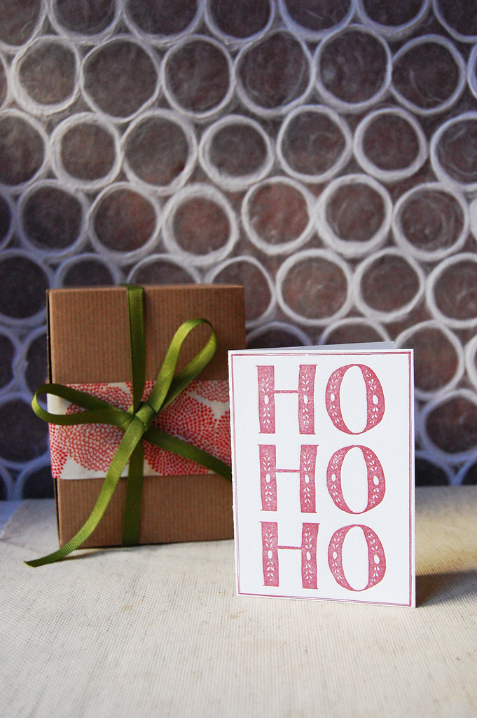 Ho Ho Ho | Folded Card
