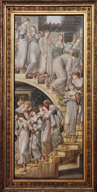 The Golden Stairs, Edward Coley Burne-Jones, 1880