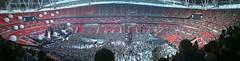 Inside Wembley Stadium - Panoramic - later
