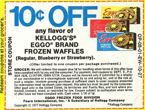 Eggo Waffles coupon