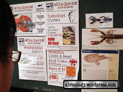 Greenwood Fish Market promotions