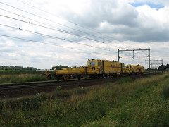 Work train Strukton Railinfra (giedje2200loc) Tags: train work trains railways railfan werk trein railroads treinen railfanning railinfra strukton