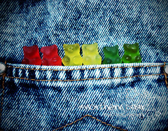 bears in my pocket. (*northern star) Tags: bear blue red verde green yellow canon candy sweet d bears sugar explore jeans dolce giallo bluejeans pocket carie gummybears candies rosso gummy lightgreen lightred dolci tasca gomma lightyellow onexplore orsetti northernstar orsini dolcetti supershot explored donotsteal allrightsreserved capolino dolcini gommoso gommosi northernstarandthewhiterabbit northernstar tititu usewithoutpermissionisillegal northernstarphotography ifyouwannatakeitforpersonalusesnotcommercialusesjustask