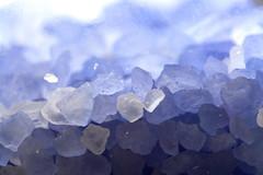 Lavender Rocks (Samer Farha) Tags: blue macro bath salt lavender lightbox img6231